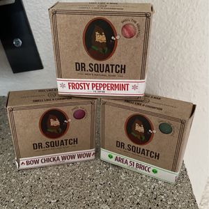 Dr. Squatch Limited Edition Soaps For Men for Sale in Woodway, WA