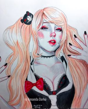 Junko Enoshima Drawing - Danagnronpa for Sale in Centerville, GA