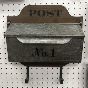 """Brand New Post Box with 2 Hooks (Dimensions: 13.5""""x4""""x15"""") for Sale in North Las Vegas, NV"""