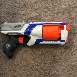 Elite Blue Nerf gun and a Overwatch Nerf Gun for Sale in San Clemente, CA