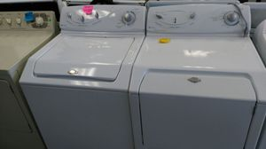 """Maytag (washer/gas dryer """"set"""") (white) for Sale in Cleveland, OH"""