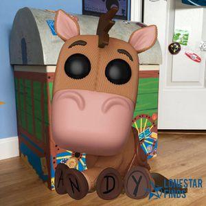 New Funko Pop! Movies Disney's Toy Story Bullseye Figure for Sale in Universal City, TX