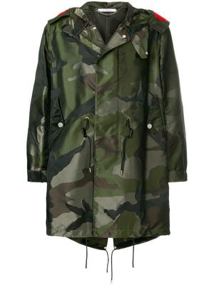 GIVENCHY camouflage parka coat for Sale in West Hollywood, CA