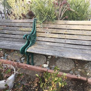 Pair Of Antique Outdoor Benches for Sale in Glendale, CA