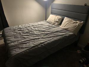 IKEA Queen Bed Set for Sale in Newport Beach, CA