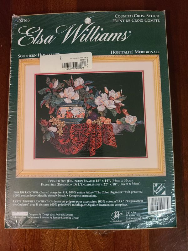 Elsa Williams Southern Hospitality counted cross stitch kit