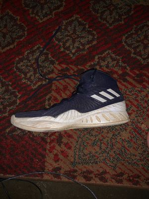 Adidas Basketball Shoes Blue, White for Sale in Sacramento, CA