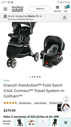 Graco Fast Action Fold Sport Without The Baby Car Seat for Sale in Hialeah, FL