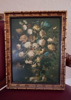 Oil reproduction Painting FLORERO CON HORTENSIAS for Sale in Miami, FL