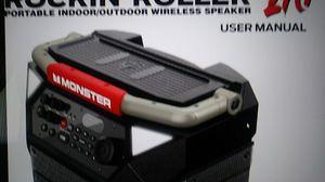 Monster Rockin' Roller 270 Wireless Bluetooth RechargeableSpeaker (MNRR270) for Sale in Port Richey, FL