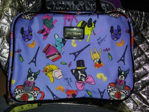 Betsy Johnson Pug goes to Paris Make up Bag for Sale in St. Petersburg, FL