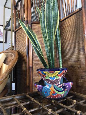 Beautiful Talavera Plant Pot for Sale in San Diego, CA