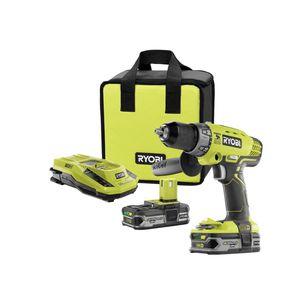 Ryobi 18 volt hammer drill/drive kit for Sale in Dearborn, MI