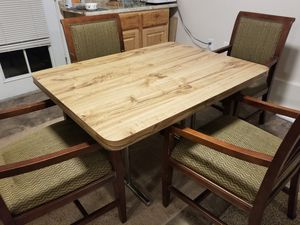 Kitchen Table and 4 Chairs OBO for Sale in Brier, WA