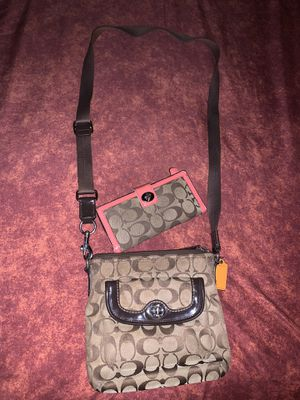 Coach Crossbody Bag & Wallet for Sale in Terrell, TX