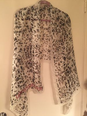 Louis Vuitton scarf long in length came from Louis Vuitton store for Sale in Hermitage, TN