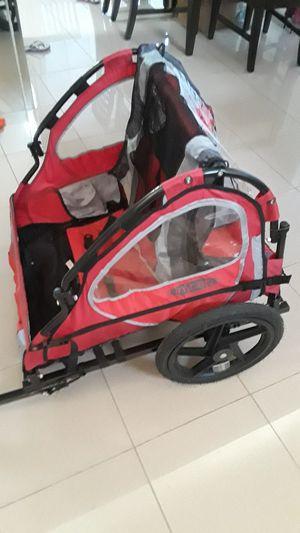 2 seats kids stroller bike trailer for Sale in Miami, FL