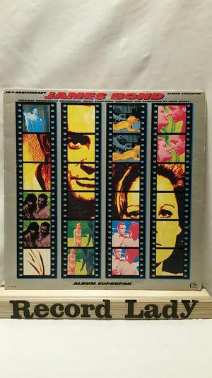 "James Bond ""10th Anniversary"" 2XLP vinyl records soundtrack for Sale in San Diego, CA"