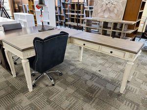 White Ashley flip top desk for Sale in Phoenix, AZ