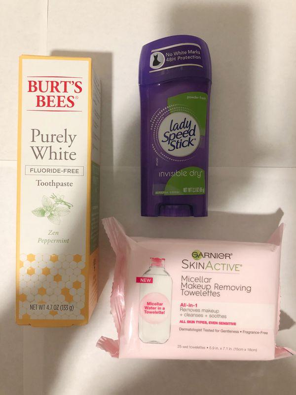 Women's Hygiene: Feminine, Personal, Skin Care & Household Bundle (Burts Bees, Garnier, Schick, Gillette, Loreal, Stayfree & more)