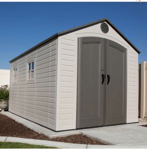 Lifetime 8 ft. x 15 ft. Storage Shed new for Sale in Glendale, AZ