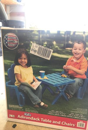 Kids outdoor table and chair set for Sale in Damascus, OR
