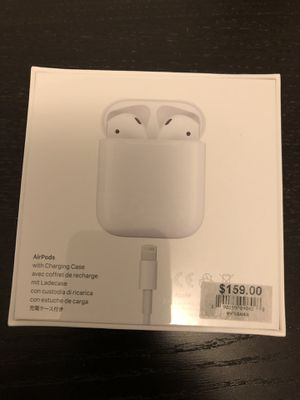 Brand New AirPods in box for Sale in Fremont, CA