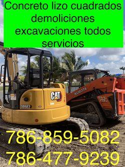 Excavadora Bobcat Mini Excavator And Volteo.)✅(((.demolición Servi,Vips.)))✅✅✅.!!!. for Sale in Miami,  FL