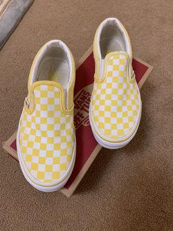 Slip On Checkered Vans for Sale in Albuquerque, NM