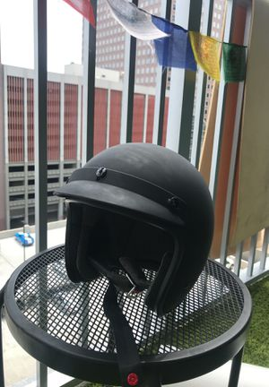 Black Brand motorcycle helmet for Sale in Denver, CO