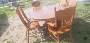 Dinning table with 6chairs for Sale in Orosi, CA