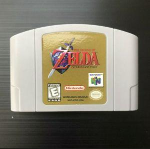 Legend of Zelda: Ocarina of Time (Nintendo 64, 1998) N64 - Tested, Great Gift! for Sale in Pembroke Pines, FL