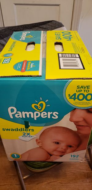 Pampers Swaddlers Size 1 for Sale in Dallas, TX