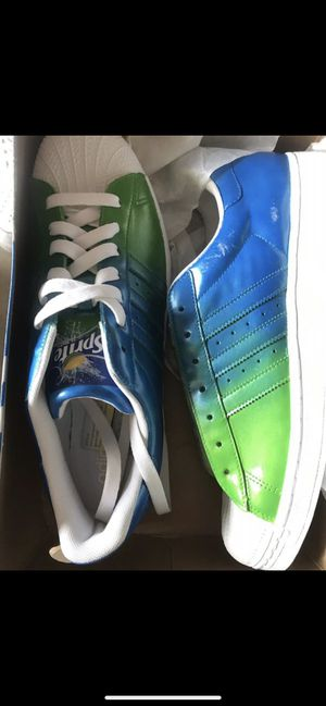 Adidas superstar Sprite custom size 13 for Sale in Aliso Viejo, CA