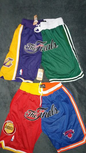 NBA Finals Just Don Shorts Sz M for Sale in Las Vegas, NV