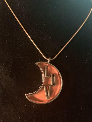 Pendant (LUV) Necklace (Please Read Description) for Sale in Seattle, WA