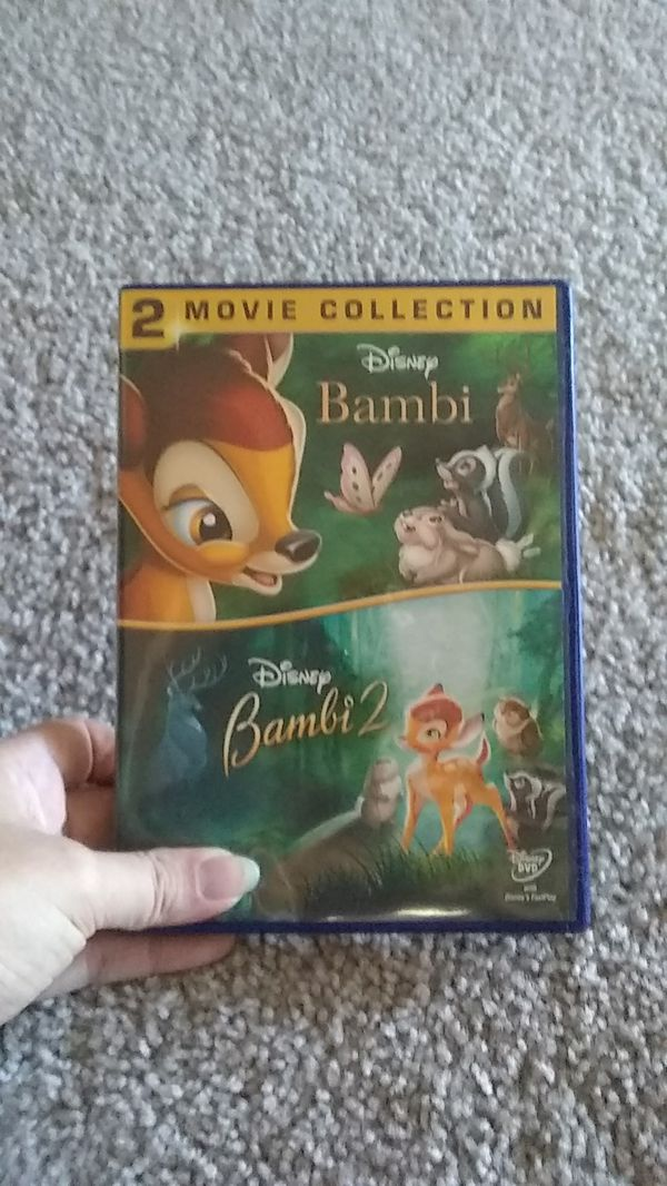 Bambi 1&2 DVD collection
