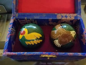 Chinese Health Stress Relieve Hand Exercise Baoding Balls for Sale in Tucson, AZ