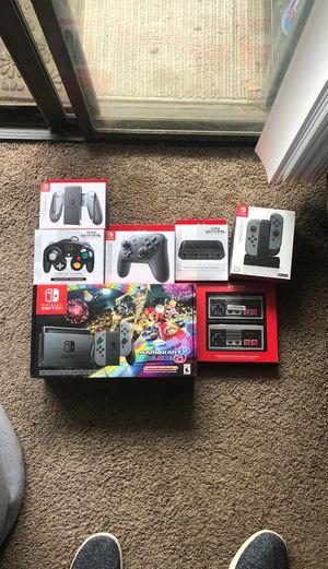 Nintendo Switch Bundle - BRAND NEW for Sale in Riverside, CA
