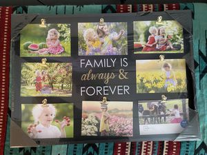 Picture collage frame for Sale in Virginia Beach, VA
