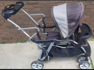 Sit n Stand Double Stroller for Sale in Farmington Hills, MI