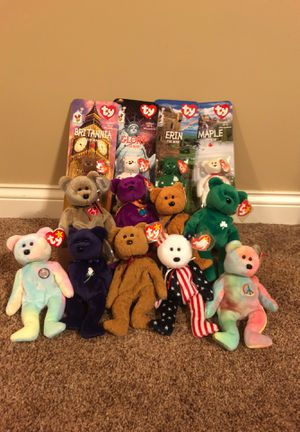 ty beanie babies bears exclusive lot for Sale in Itasca, IL