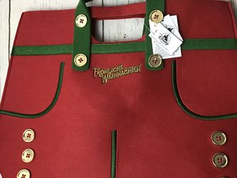 Disney Park Frohliche Weihnachten Germany Holiday Bag for Sale in Pompano Beach,  FL