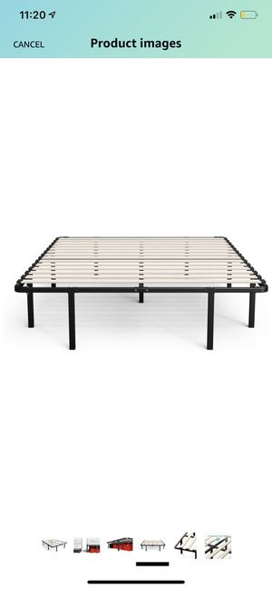 FULL SIZE ZINUS BED FRAME for Sale in South San Francisco, CA