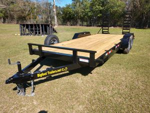 10k 5 Ton Equipment trailer open flatbed flat bed skid steer mini excavator 20' 18 16 trailers for Sale in Dover, FL