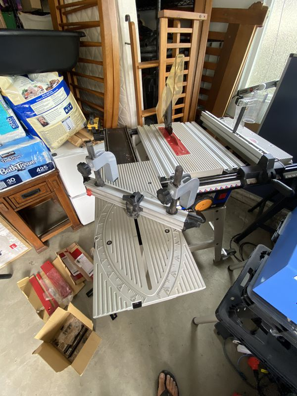 Ryobi Table Saw with Sliding miter & router w/table for ...