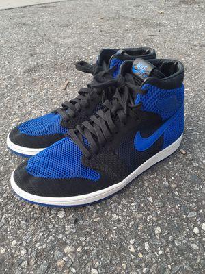 Men's Nike Jordan 1 Blue Royal flyknit for Sale in Orlando, FL