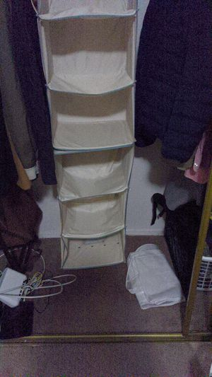 Shelf organizer closet organizer for Sale in Los Angeles, CA