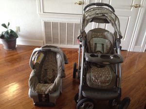Child Combo stroller carrier car seat for Sale in Austin, TX