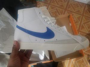 Nike Blazer Mid 77 Blue - Never worn for Sale in Takoma Park, MD